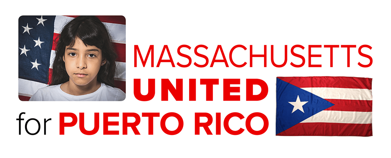 Massachusetts United for Puerto Rico logo