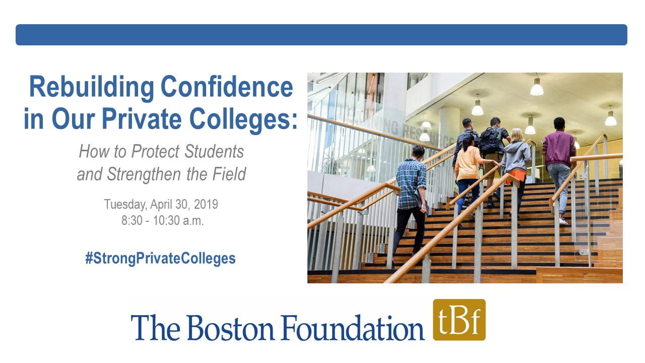 Private colleges cover slide