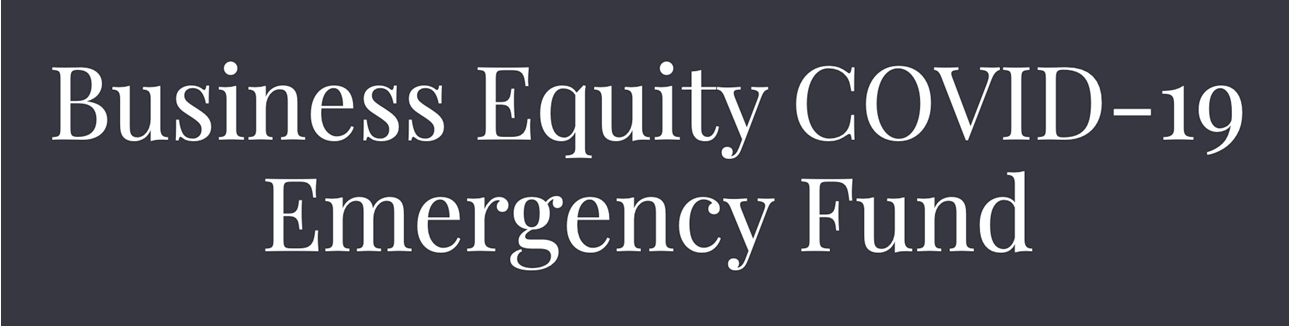 Business Equity COVID-19 Emergency Fund logo