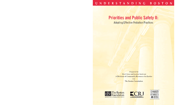 Priorities and Public Safety II