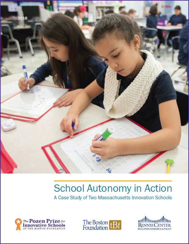 School Autonomy in Action cover