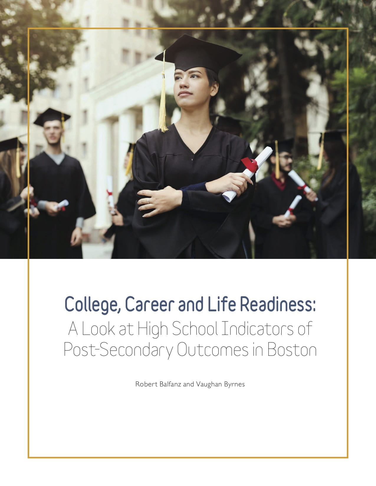 College readiness Report cover