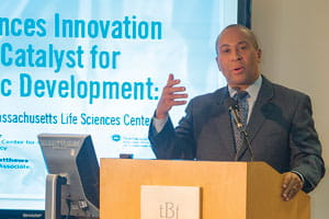 Gov Patrick at Life Sciences