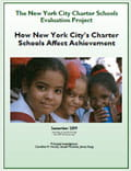 NYC Charter Schools Report cover