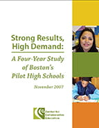 A Four-Year Study of Boston's Pilot High Schools