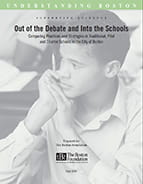 Out of the Debate and Into the Schools: Full Report and Evidence