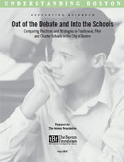 Out of the Debate cover