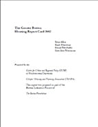 Greater Boston Housing Report Card 2002