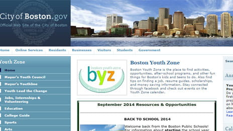 Boston Youth Zone