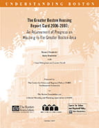 The Greater Boston Housing Report Card, 2006 - 2007