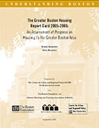 Greater Boston Housing Report Card 2005-2006