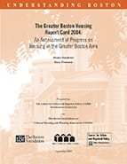 Greater Boston Housing Report Card 2004