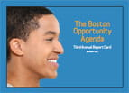 Boston Opportunity Agenda Report Card 2013 cover