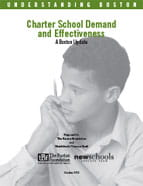 Charter School Effectiveness 13 cover