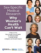 Womens Health Summit report cover