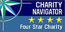 Charity Navigator 4 Star rating s