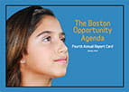 Boston Opportunity Agenda 4th Report Card cover